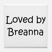 Unique Breanna Tile Coaster