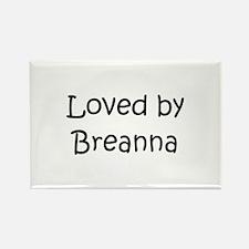 Unique Breanna Rectangle Magnet