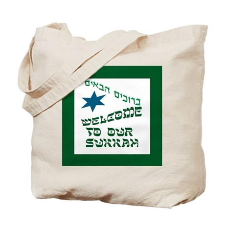 Sukkah Welcome Tote Bag
