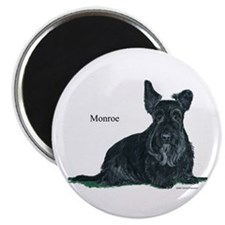 Laughing Scottish Terrier Magnet