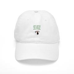 golf humor gifts and t-shirts Baseball Cap