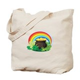 Pot of gold Canvas Totes