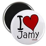 I Love Jamy Magnet