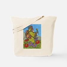 Backpack Santa Tote Bag