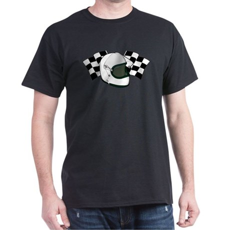 Helmet & Flags Dark T-Shirt