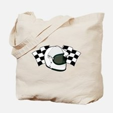 Helmet & Flags Tote Bag