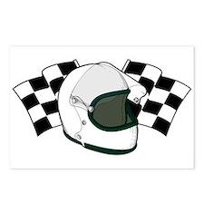Helmet & Flags Postcards (Package of 8)