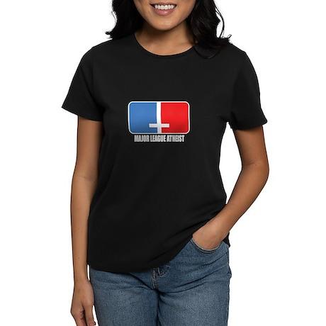 Major League Atheist Women's Dark T-Shirt
