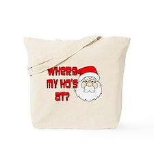 Santa Ho Tote Bag