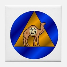 Sober Camel 23 Tile Coaster