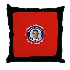 Obama Inauguration Day Throw Pillow