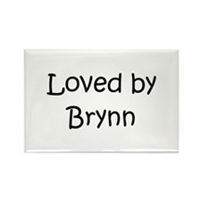 Cute Brynn Rectangle Magnet