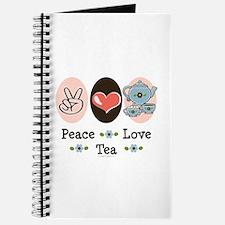Peace Love Tea Journal
