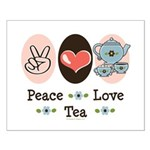 Peace Love Tea Small Poster