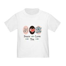 Peace Love Tea T