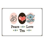 Peace Love Tea Banner