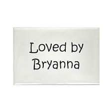 Cute Bryanna Rectangle Magnet