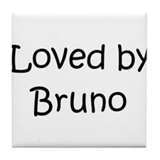 Funny Bruno Tile Coaster