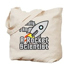 Rocket Scientist Tote Bag