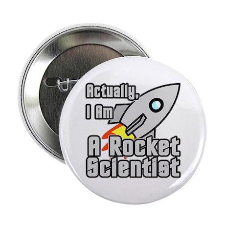 """Rocket Scientist 2.25"""" Button"""
