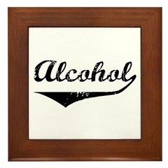 Alcohol Framed Tile