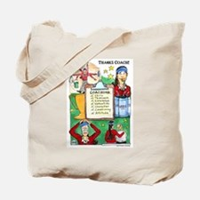 Great Coach (F) Thanks! Tote Bag