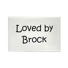 Cute Brock name Rectangle Magnet