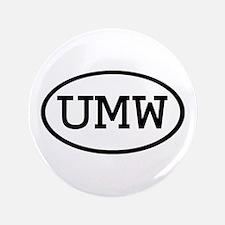 """UMW Oval 3.5"""" Button"""