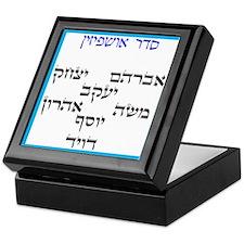 Sukkah Ushpizin Keepsake Box
