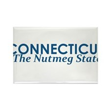 Cool Connecticut Rectangle Magnet