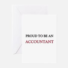 Proud To Be A ACCOUNTANT Greeting Cards (Pk of 10)