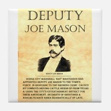 Joe Mason Tile Coaster