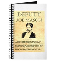 Joe Mason Journal