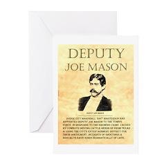 Joe Mason Greeting Cards (Pk of 20)