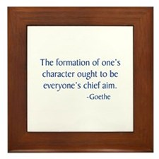 Goethe Framed Tile