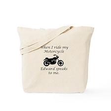 Cute Twilight motorcycles Tote Bag