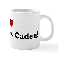 I Love my nephew Caden! Mug