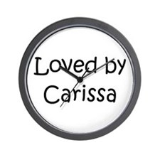 Cute Carissa Wall Clock