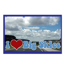 Big Skies Postcards (Package of 8)