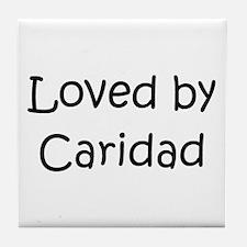 Cute Caridad Tile Coaster