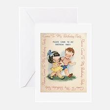 A Birthday Invitation Greeting Cards (Pk of 10