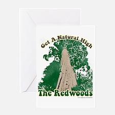 Redwood High Greeting Card