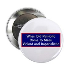 anti-war anti-bush patriotic Button