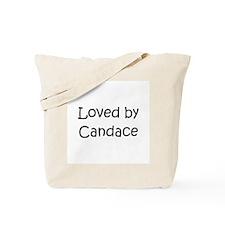 Cute Candace Tote Bag