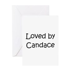 Cute Candace Greeting Card
