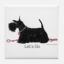 Scottie Let's Go! Tile Coaster