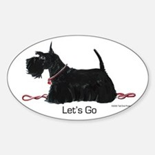 Scottie Let's Go! Sticker (Oval)