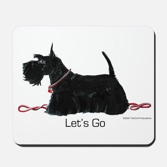 Scottie Let's Go! Mousepad