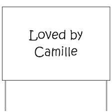 Unique Camille Yard Sign