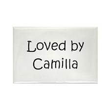 Unique Camilla Rectangle Magnet